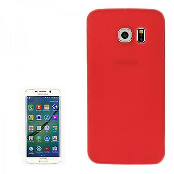 Hard Case Red 0.3mm Case Ultra-mince pour Samsung Galaxy S6 bord G925 G925F