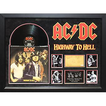 AC/DC - Highway To Hell - assinado álbum
