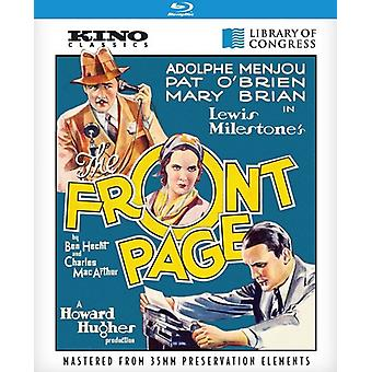 Front side [BLU-RAY] USA import