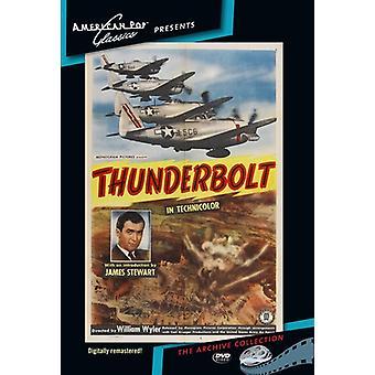 Thunderbolt [DVD] USA importerer