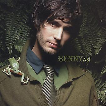 Benny - importar de USA Asi [CD]