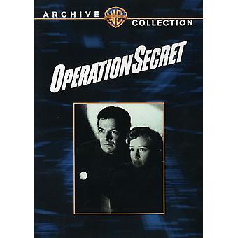 Operasjonen hemmelige [DVD] USA import