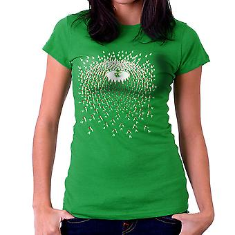 Legend of Zelda Link Vs Cuccos Women's T-Shirt