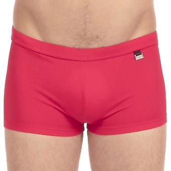 HOM Marina Swim Shorts, Red, Small