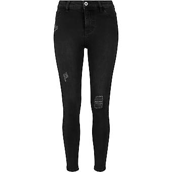 Urban classics ladies vita alta denim skinny pants