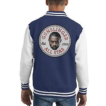 Idris Elbs Face Converse All Star Dark Tower Kid's Varsity Jacket