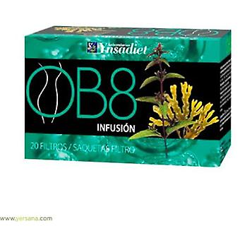 Ynsadiet Infusion OB8 20 filters (Herbalist's , Infusions)