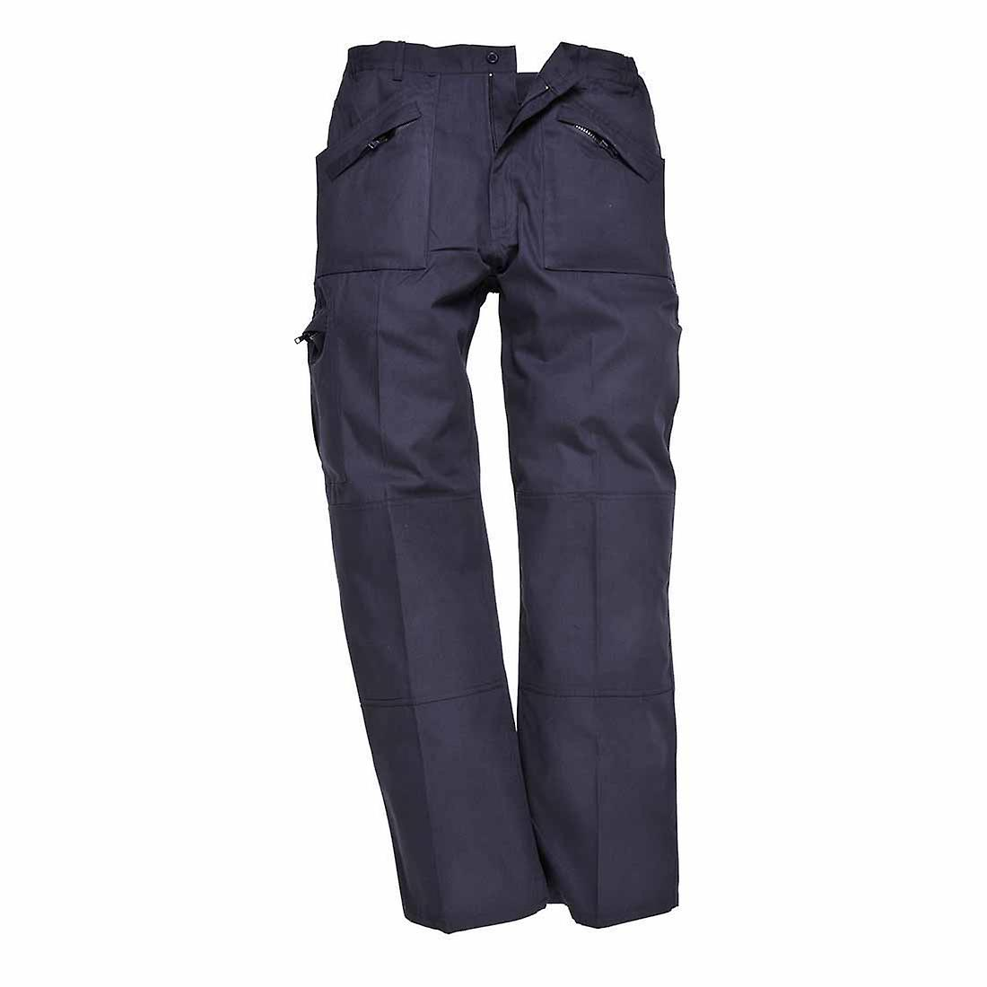 Portwest - Classic Lightweight Workwear Action Cargo Trousers - Texpel Finish