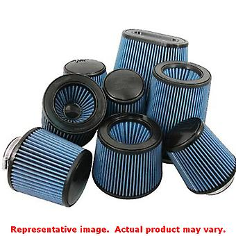 Injen Replacement Filters X-1010-BR Black 5in Base / 5in Tall / 4in Top Fits:UN