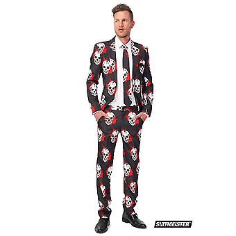 Skull blood skull suit Suitmeister slimline economy 3-piece set