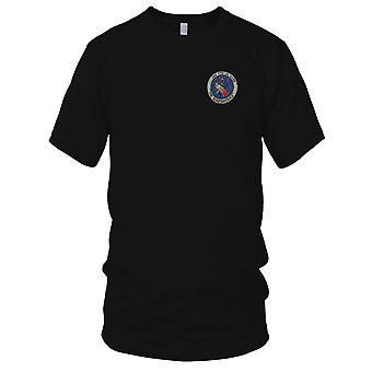 USAF Air Force 366 TFW Tactical Fighter Wing The Gunfighters - Vietnam War Embroidered Patch - Ladies T Shirt