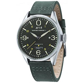 AVI-8 Hawker Harrier II Watch - Dark Green/Green/Silver