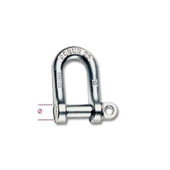 Beta 8025 12 12Mm Large Dee Shackles Hot Forged Carbon Steel Grade 4 Galvanized