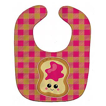 Carolines Treasures  BB6844BIB Jelly Toast Baby Bib