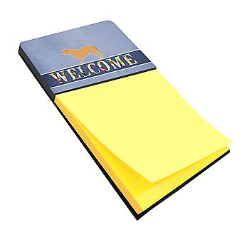 Carolines Treasures  BB5574SN Dogue de Bordeaux Welcome Sticky Note Holder