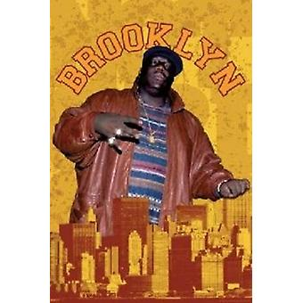 Notorious BIG - Brooklyn Poster Poster Print
