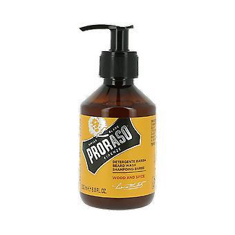 Proraso Italian Wood and Spice Beard Wash 200ml