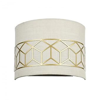 Maytoni Lighting Messina House Collection Sconce, Gold