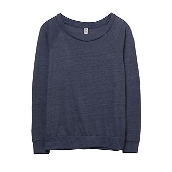 Alternative Apparel Womens/Ladies Eco-Jersey Slouchy Pullover