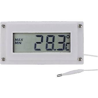 Voltcraft LCD Digital Thermometer and Clock -10 to +110 °C