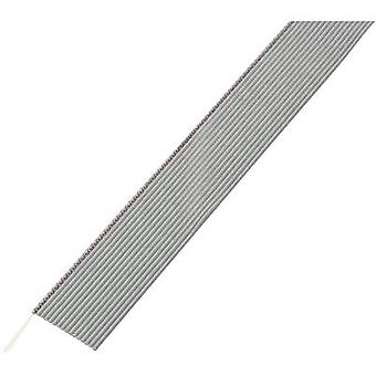 Conrad Components 607287 Flat Ribbon Cable Grey