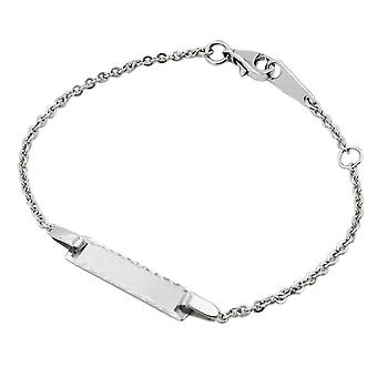 Id bracelet anchor chain silver 925