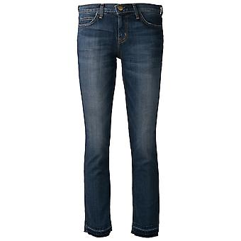 Current Elliott women's 15700400LOVED blue cotton of jeans