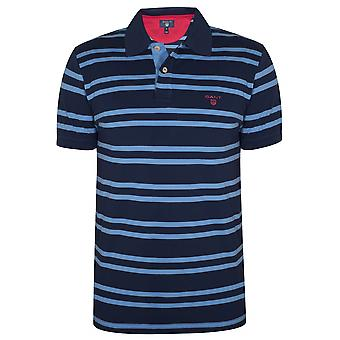 Gant Gant Persian Blue Striped Polo Shirt