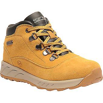 Regatta Boys & Girls Grimshaw Suede Mid Waterproof Walking Boots