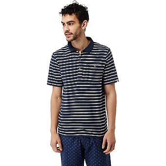 Craghoppers Mens Fraser Striped Wicking Short Sleeve Polo Shirt