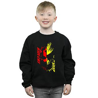 Marvel Boys Ant-Man and The Wasp Split Face Sweatshirt
