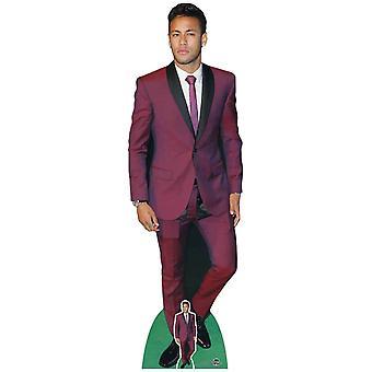 Neymar Footballer Lifesize Cardboard Cutout / Standup / Standee