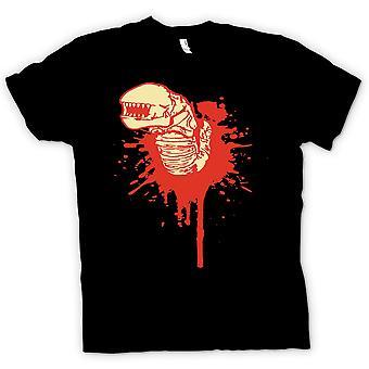Mens T-Shirt - Alien twarzy Hugger - Horror - Film