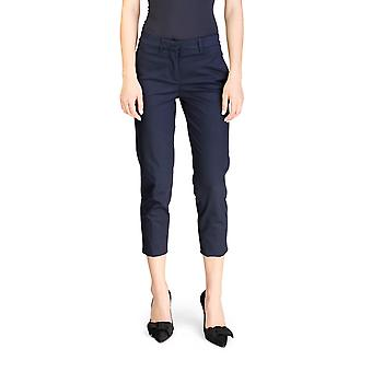 Miu Miu Women's Chino Slim Fit Pants Navy