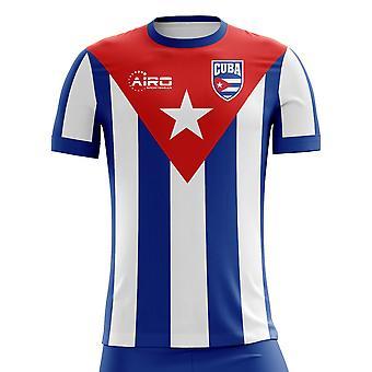 2018-2019 كوبا مفهوم الوطن لكرة القدم قميص (الأطفال)