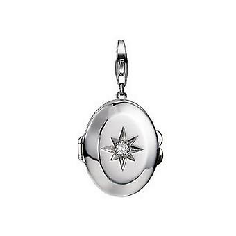 ESPRIT hänge av berlocker Silver Star medaljong ESCH91118A000