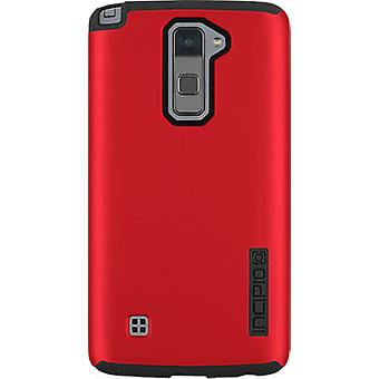 Incipio DualPro Shock-absorbing Case for LG Stylo 2 V - Iridescent Red/Black