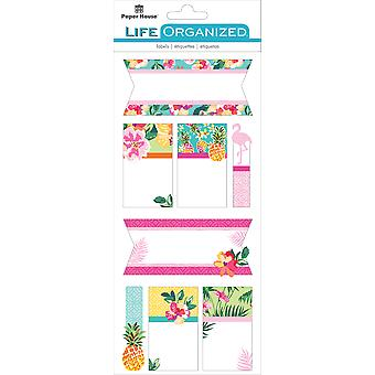 Paper House Life Organized Label Stickers-Embrace Today