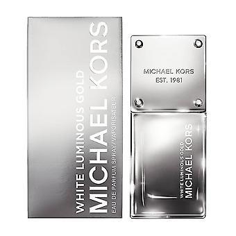 مايكل كورز 'الأبيض الذهب مضيئة' العطر أوز 1/30 مل الجديد في مربع