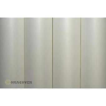 Couvrir le tissu Oracover Oratex 02/10/00 (L x L) 2 m x 60 cm blanc écru