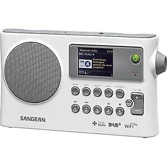 Sangean WFR-28C Internet Portable radio AUX, DAB+, Internet radio, FM, USB DLNA-compatible White