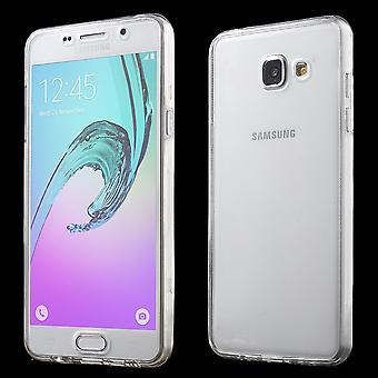 Crystal case cover for Samsung Galaxy A5 2016 transparent full body