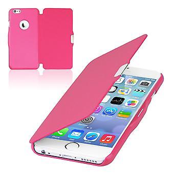 Retourner la housse d'affaire téléphone manches Bookstyle pour Apple iPhone 5 / 5 s / SE rose