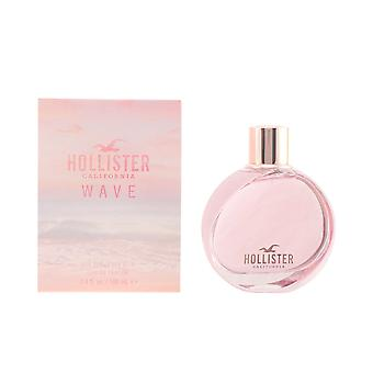 Hollister Wave For Her Eau De Parfume Vapo 100ml Womens New Scent Sealed Boxed