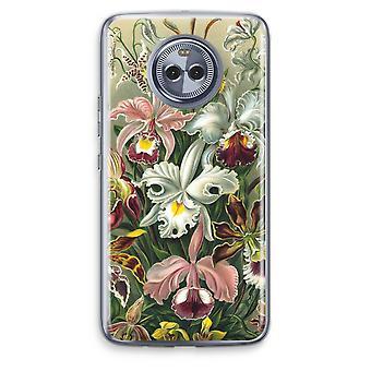 Motorola Moto X4 Transparent Case - Haeckel Orchidae