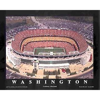 FedEx Field - Landover Maryland (Washin Poster trykk av Mike Smith (28 x 22)