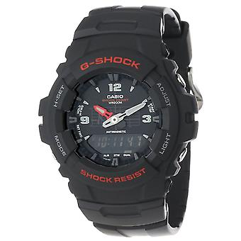 Casio G100-1BV G-Shock Classic Combination Watches
