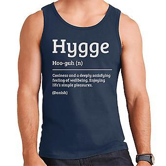 Hygge Dictionary Definition Men's Vest