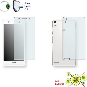 Huawei Ascend P6 display protector - Disagu ClearScreen protector (1 front / 1 rear)