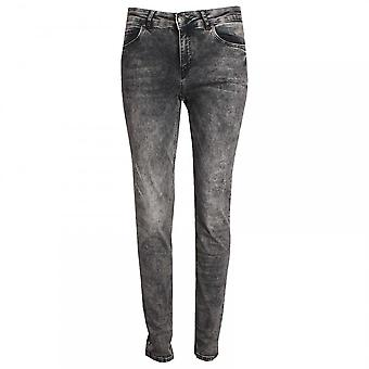 Oui Women's Striaght Leg Slim Fit Jeans